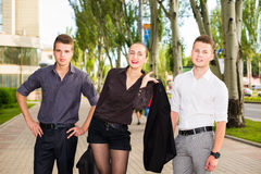 Успешная бизнес-группа Стоковое Изображение RF