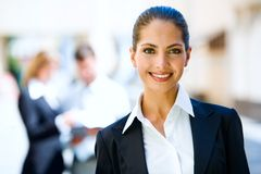 успешная женщина Стоковая Фотография RF
