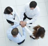 Успешная команда дела показывая единство Стоковое Изображение RF