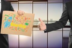 Успешная startup концепция Стоковые Изображения