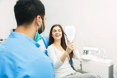 Успешное восстановление зубов Стоковое Фото