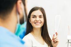 Успешное восстановление зубов Стоковое фото RF