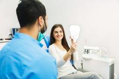 Успешное восстановление зубов Стоковое Изображение RF