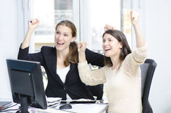Успешные женщины дела Стоковые Изображения RF