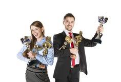 Успешные коллегаы дела Стоковые Изображения