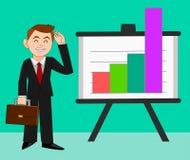 Успешный бизнесмен в продажах Стоковые Изображения RF
