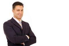 Успешный бизнесмен Стоковые Изображения RF