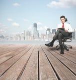 Успешный бизнесмен Стоковые Изображения