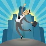 Успешный бизнесмен Стоковое фото RF