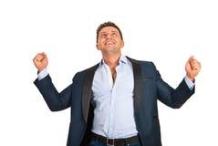 Успешный бизнесмен Стоковые Фотографии RF