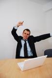 Успешный бизнесмен Стоковое Фото