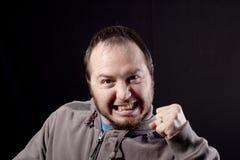 Успешный кулак человека Стоковые Фотографии RF