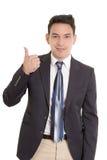 Успешный молодой испанский бизнесмен Стоковые Изображения RF