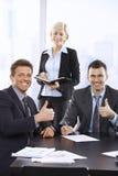 Успешный портрет команды Стоковые Фото