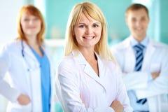 Успешный практикующий врач Стоковые Изображения RF