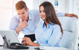 2 успешных делового партнера Стоковое фото RF