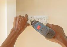 Устанавливать выключатель Стоковое Изображение RF