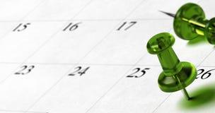 Устанавливать дату назначения на повестке дня бесплатная иллюстрация