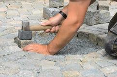 Устанавливать каменные блоки Стоковые Фото