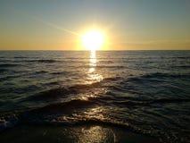 Устанавливать океаном Стоковые Изображения