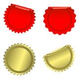 установите бирки иллюстрация вектора