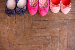 установите ботинки Стоковые Фото