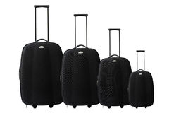 установите вагонетку чемодана Стоковое Изображение RF
