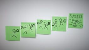 Установите вашу фотографию стиля целей корпоративную Стоковое Изображение