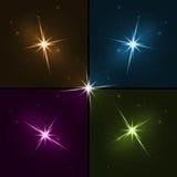 Установите звезду для праздничного украшения бесплатная иллюстрация