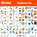 Установите 120 значков иллюстрация вектора