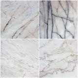 Установите от 4 каменных текстур Справочная информация Стоковая Фотография RF