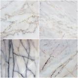 Установите от 4 каменных текстур Стоковое Изображение RF