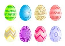 Установите пасхальное яйцо стоковое фото