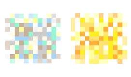 Установите пиксела цензировал знаки бесплатная иллюстрация