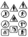 установите предупреждение бесплатная иллюстрация