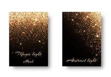 Установите предпосылку яркого блеска Стоковые Изображения