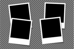 Установите рамки фото для изданий Стоковые Изображения RF