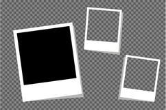 Установите рамки фото для изданий Стоковая Фотография RF