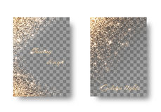 Установите светлую прозрачную предпосылку Стоковые Фотографии RF