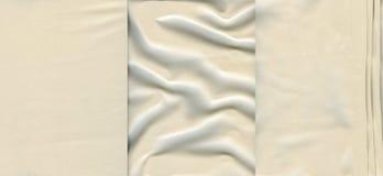 Установите светлые кожаные текстуры Стоковые Фотографии RF