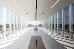Установите смотровую площадку Ville Мари в Монреале Стоковое фото RF