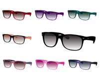 установите солнечные очки Стоковое Изображение