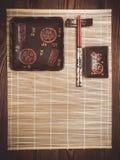 установите суши Стоковая Фотография RF