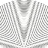Установите дугу - звуколокацию иллюстрация вектора