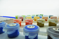 Установите цвета для красить Стоковая Фотография RF