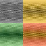 Установите цвет безшовных картин бесплатная иллюстрация