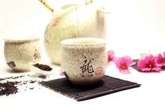 установите чайник Стоковая Фотография RF