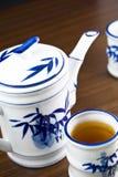 установите чай Стоковые Изображения RF