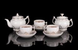 установите чай Стоковые Фото