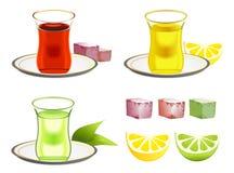 установите чай бесплатная иллюстрация